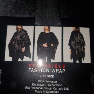 Ike Behar reversible fashion wrap